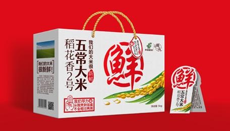 五邮稲(包装设计)